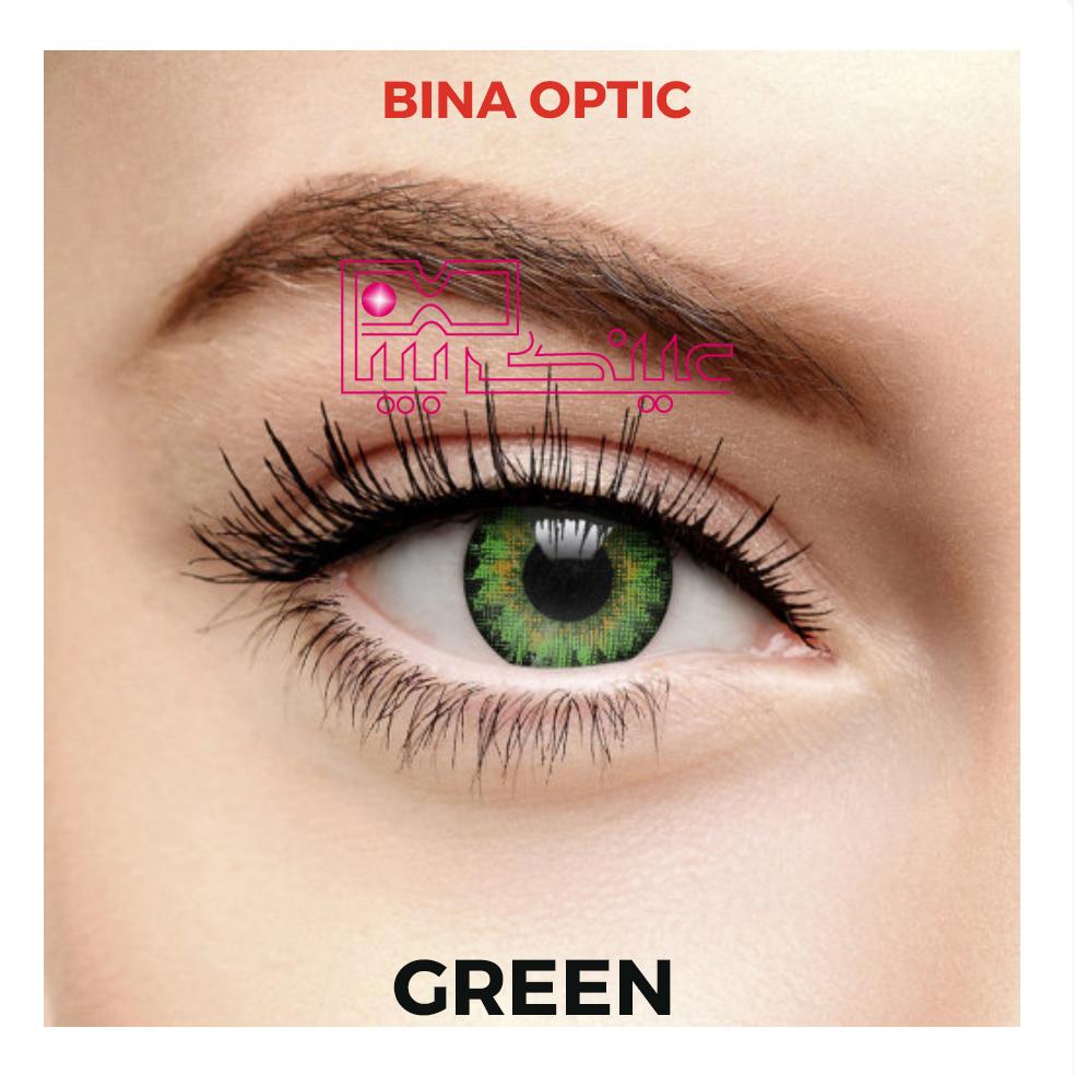 لنز ایراپتیکس سبز