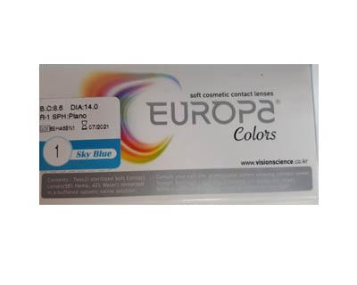 لنز یوروپا رنگی فصلی
