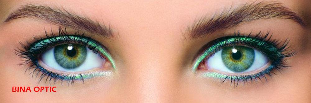 رنگ لنز تماسی 2