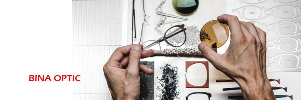 ساخت فریم عینک