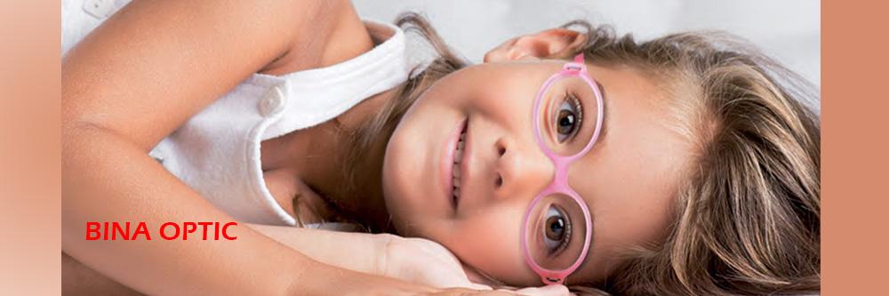 عینک طبی برای بچه