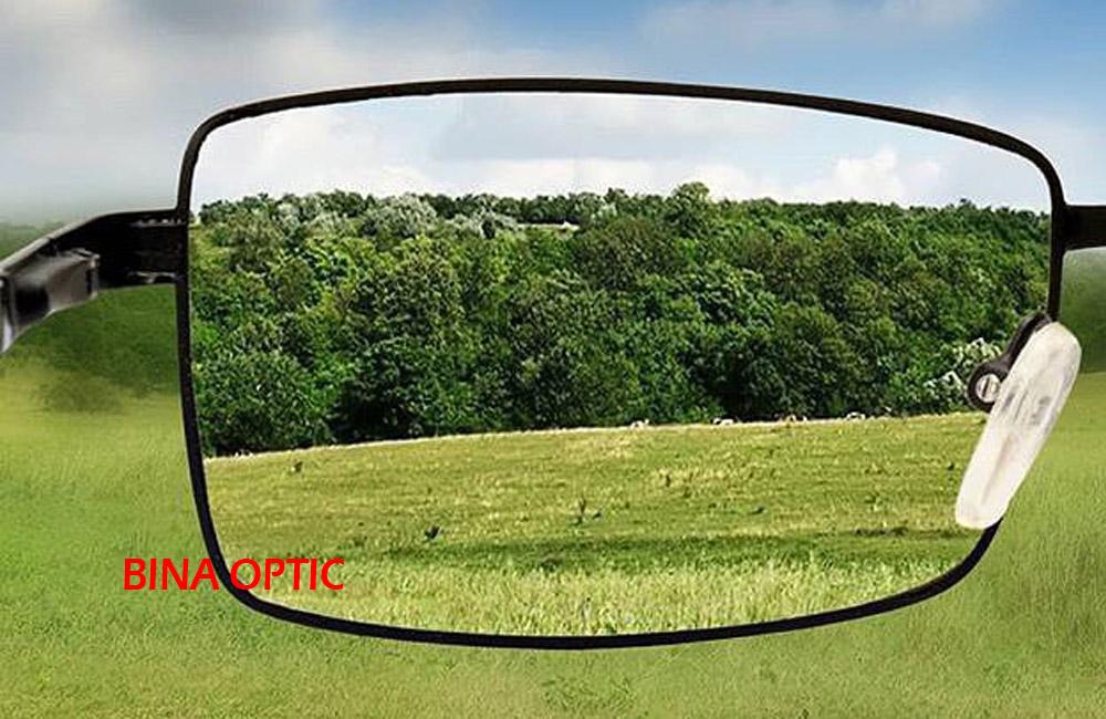 انتخاب اندازه فریم عینک