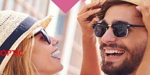 عینک آفتابی و کلاه