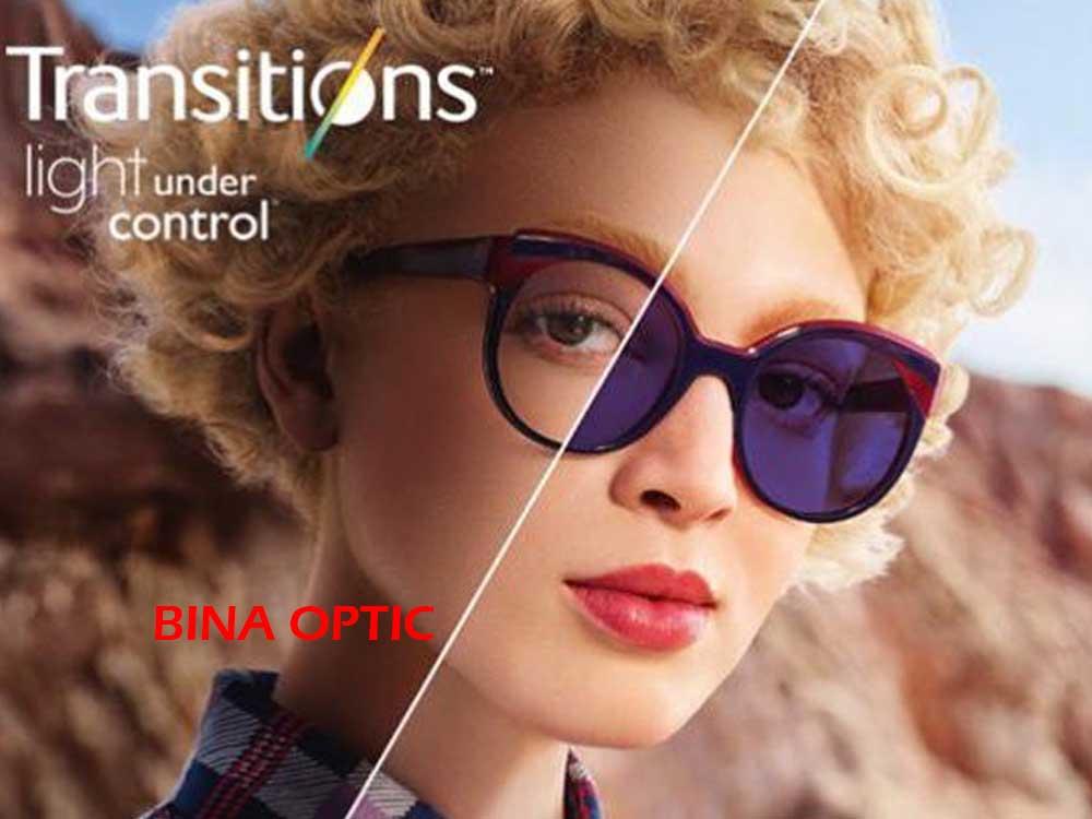 عدسی عینک فتوکرومیک