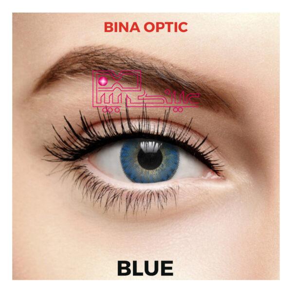 لنز فرشلوک آبی