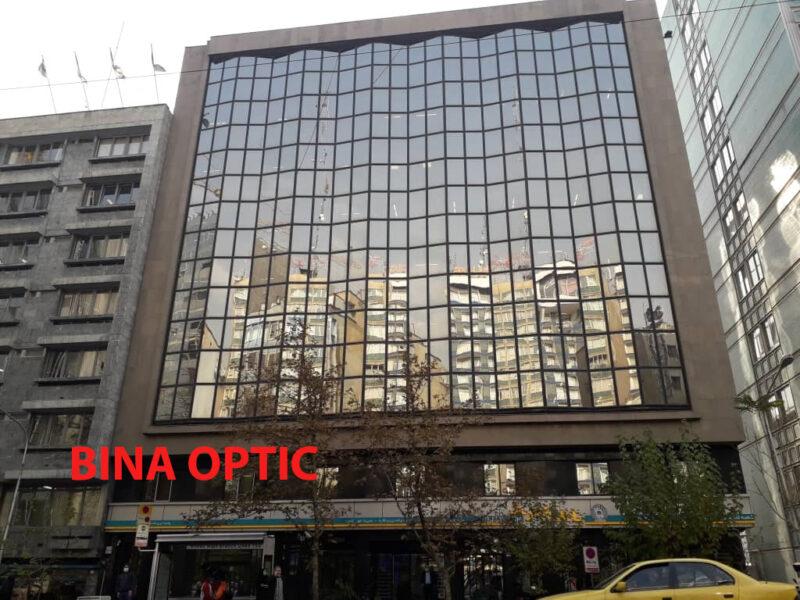 عینک فروشی طرف قرار داد بانک تجارت در تهران